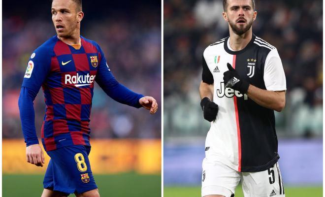 Desak Arthur Melo Terima Tawaran Juventus, Barcelona Berusaha Datangkan Miralem Pjanic