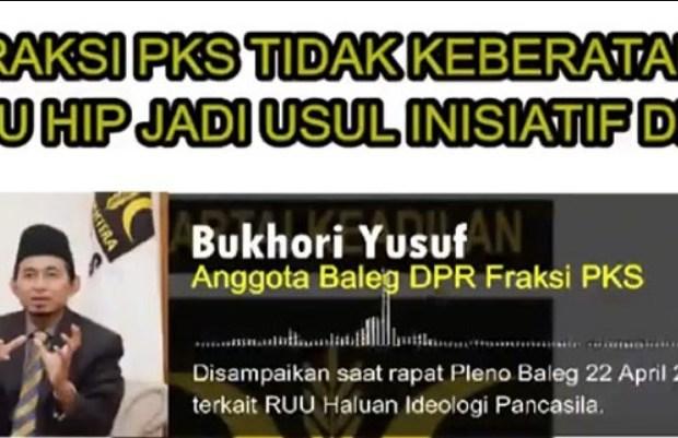 Benarkah PKS Tolak Setujui RUU HIP? Berikut Klarifikasinya