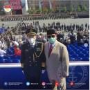 Keakraban Prabowo dan Menhan China, Foto Bareng di Parade Militer Rusia