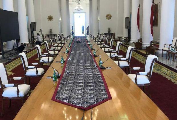 Mulai Rapat Tatap Muka Perdana, Begini Protokol Pertemuan Jokowi dengan para Menteri