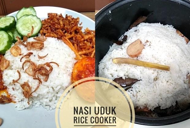 Resep Nasi Uduk Rice Cooker untuk Anak Kos