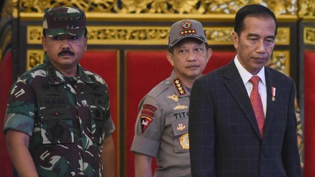 Jokowi Mendadak Panggil Panglima TNI dan Kapolri, Ada Apa Kali ini?