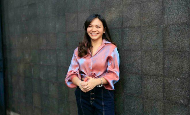 Amel Carla Sukses Jaga Berat Badan Idealnya Saat Kembali Rajin Bersepeda