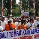 Dalam Sehari 2 Demo Digelar di Balai Kota DKI, Ajukan Tuntutan untuk Anies