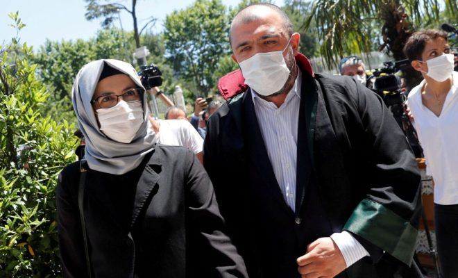 Hatice Cengiz Jadi Saksi di Pengadilan Perdana Pembunuhan Jamal Khashoggi