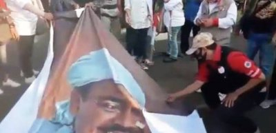 Viral Video Poster Rizieq Shihab Dibakar, FPI cs Laporkan Boedi Djarot