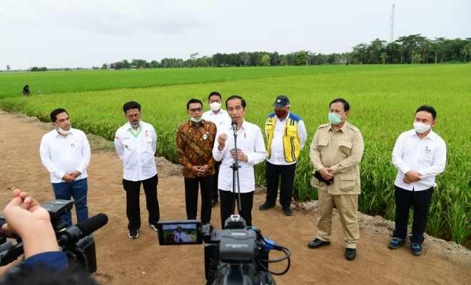 TIKTAK.ID - Wakil Menhan Beberkan Skenario Besar Jokowi-Prabowo Soal Lumbung Pangan