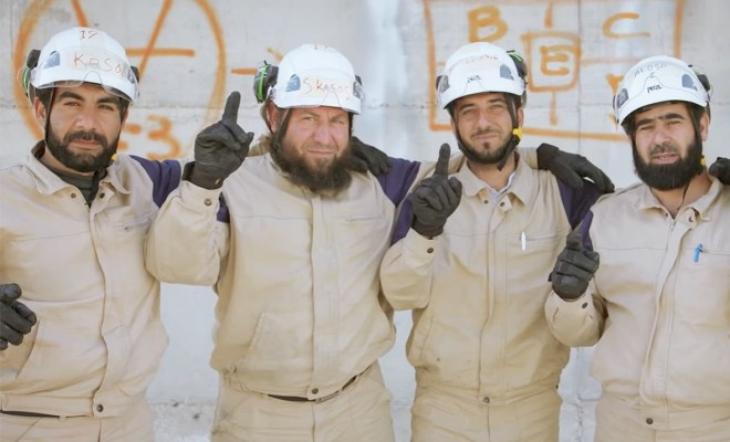 Media Jerman White Helmets Makan Uang Donor