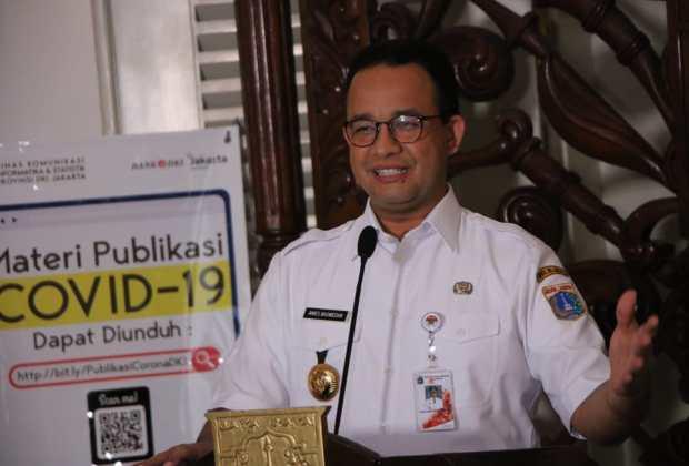 TIKTAK.ID - Anies: Wabah Covid-19 Nasional Lebih Bahaya dari Jakarta!