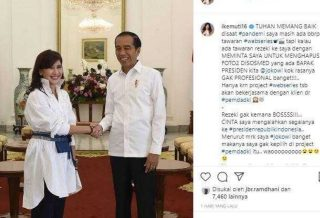 Fakta Seputar Pengakuan Ike Muti 'Disuruh Anak Buah Anies Hapus Foto Jokowi'