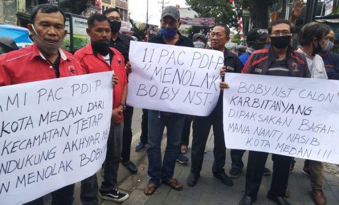 Tak Dukung Menantu Jokowi, Sejumlah Pimpinan Cabang PDIP Medan Langsung Dipecat
