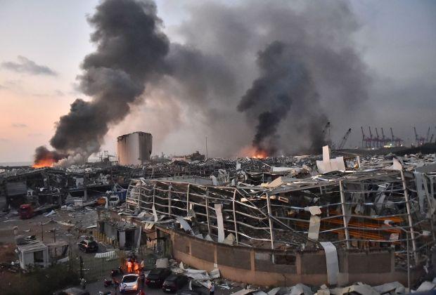 Pasca Ledakan di Beirut, Ratusan Orang Hilang