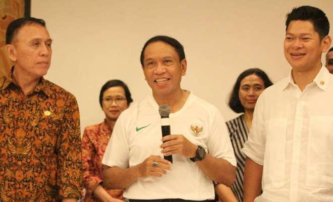 Soal Mochamad Iriawan Rangkap Jabatan Manajer Timnas U-19, Menpora Zainudin Amali: Itu Urusan PSSI