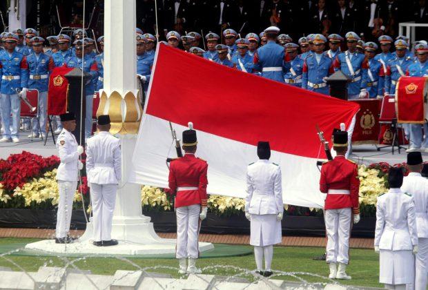 TIKTAK.ID - Ormas ini Anggap Logo HUT RI Mirip Salib, Istana Beri Klarifikasi