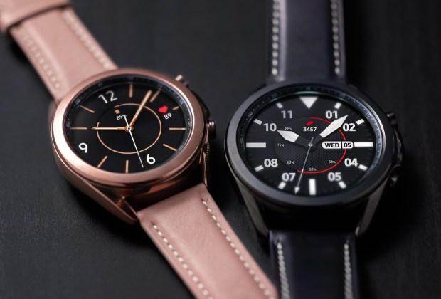 Galaxy Watch 3, Tak Perlu Repot Bawa Ponsel Saat Lari