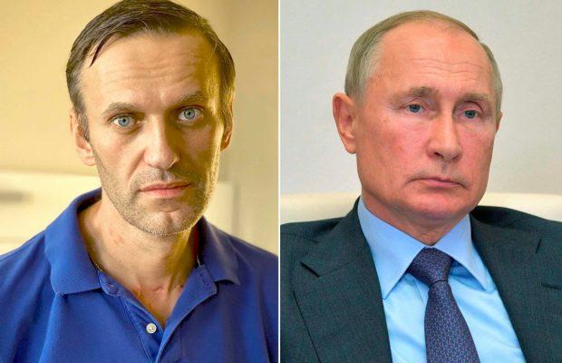 Navalny Tuding Putin yang Meracunnya