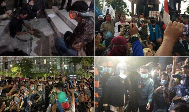 Beda Gaya Ganjar Pranowo, Ridwan Kamil dan Anies Baswedan Hadapi Demonstran