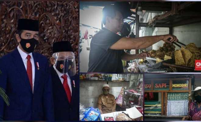 Genap Setahun Periode Kedua Jokowi-Ma'ruf di Mata Wong Cilik: Ampun, Angel Tenan, Cuma Makan Janji