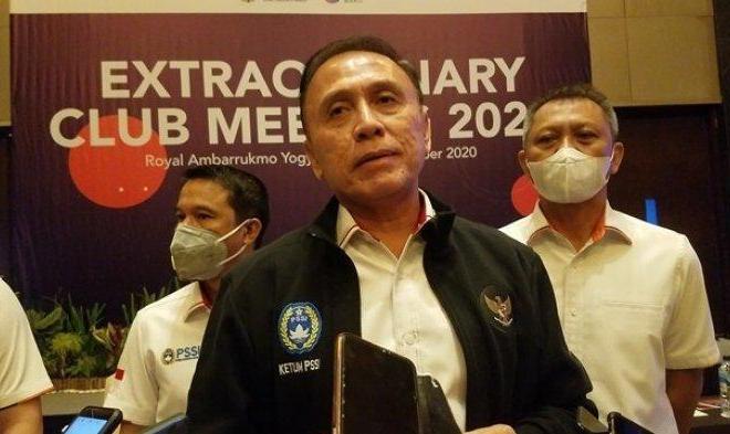 Ketua PSSI Laporkan Peningkatan Performa Timnas U-19 ke Jokowi