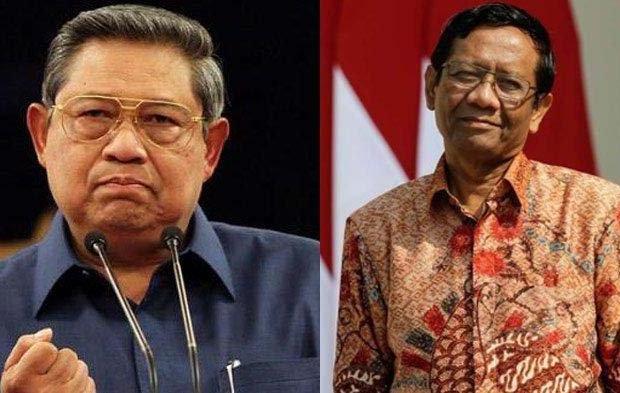 Kisruh Demokrat vs Mahfud MD Soal Tudingan 'SBY Dalangi Demo Tolak UU Ciptaker' Berlanjut