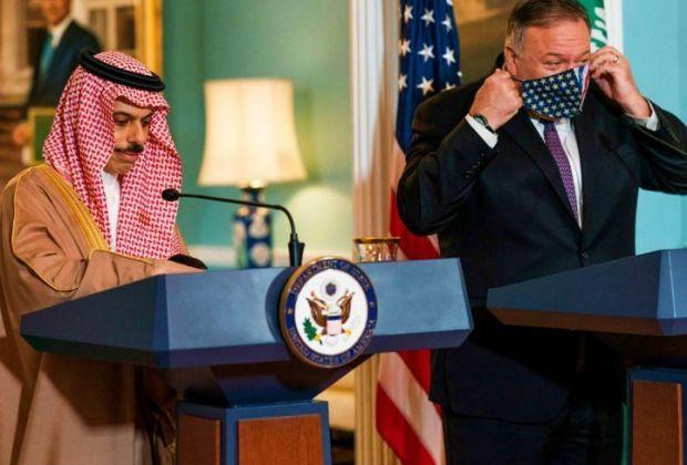 Usai Bertemu Pompeo, Menteri Luar Negeri Saudi Isyaratkan Buka Blokade Qatar
