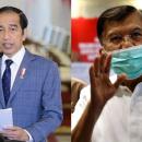 Jokowi Tweet Soal Charlie Chaplin, Sindir Jusuf Kalla?