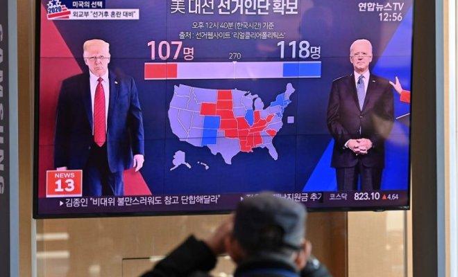 Media Dunia Soroti Pemilu AS