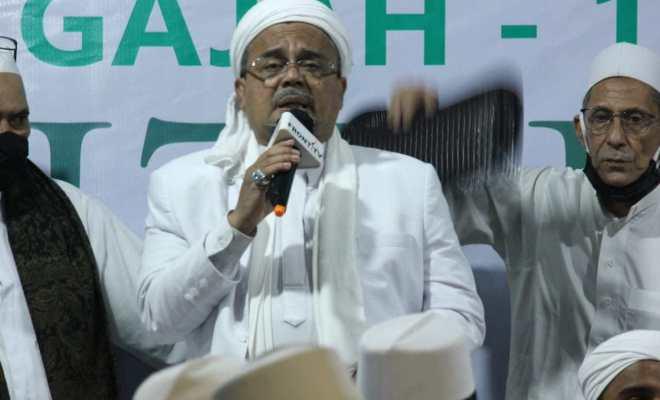 Habib Rizieq Ancam Lakukan Jihad Fisabilillah Jika Revolusi Akhlak Ditolak Pemerintah