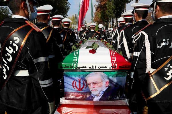 Iran Tangkap Pembunuh Ilmuwan Nuklir Syahid Fakhrizadeh