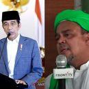 Ngotot Ajak Dialog Jokowi tapi Ditolak, HRS: Beraninya Main Lapor Terus!