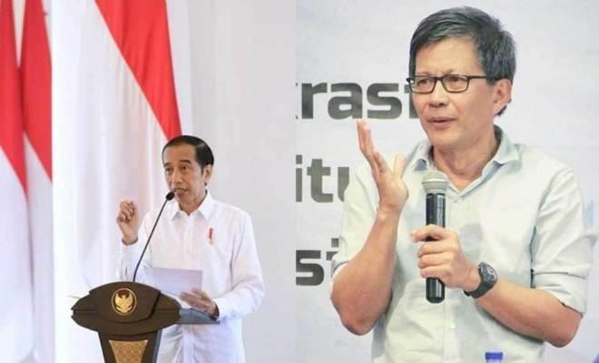 Sebut Jokowi Tak Paham Kekuasaan, Rocky Gerung: Gak Pernah Baca Buku Sejarah
