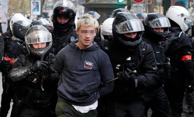 Pekan Ketiga Demonstrasi di Prancis, Polisi Tangkap Hampir 150 Orang