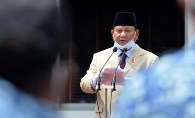 Pesan Positif Prabowo Soal Bela Negara Saat Pandemi