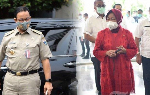 Alasan Risma Blusukan di Jakarta, Sengaja 'Pinjam Tangan Anies' untuk Naikkan Popularitasnya