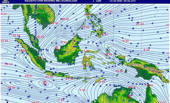 BMKG: Waspadai Gelombang Tinggi Hingga 6 Meter di Sejumlah Perairan Wilayah Indonesia