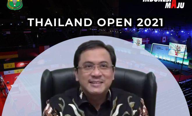 Jelang Semifinal Yonex Thailand, Ketum PBSI: Nikmati Pertandingan dan Jangan Jadi Beban