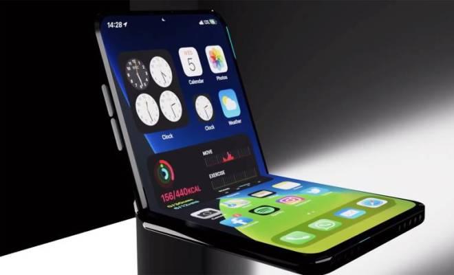 Jika Apple Luncurkan Varian Gawai Layar Lipat, Seperti Apa Wujud iPhone Flip?