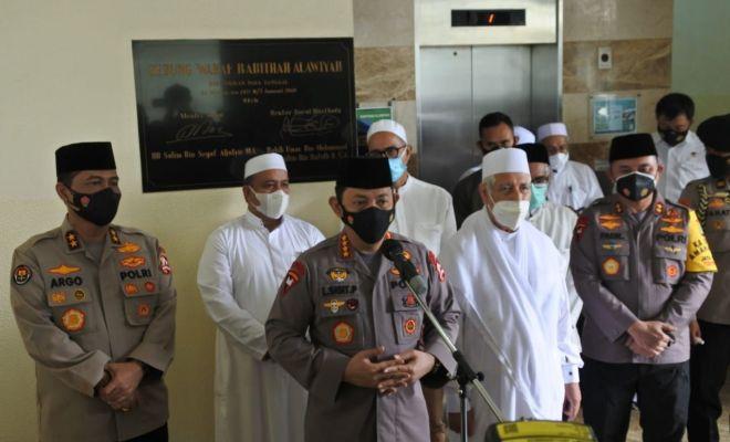 Kapolri Ajak Rabithah Alawiyah Sampaikan Pesan Harkamtibmas dengan Bahasa Umat