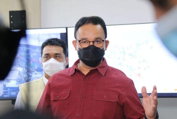 Anies Kambing Hitamkan Limpahan Air Bogor dan Depok Jadi Penyebab Banjir DKI