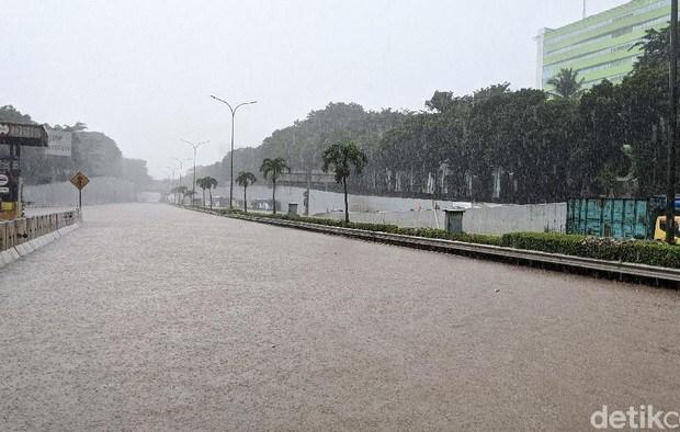 Banjir Jakarta Hari ini Jadi Sorotan Media Asing