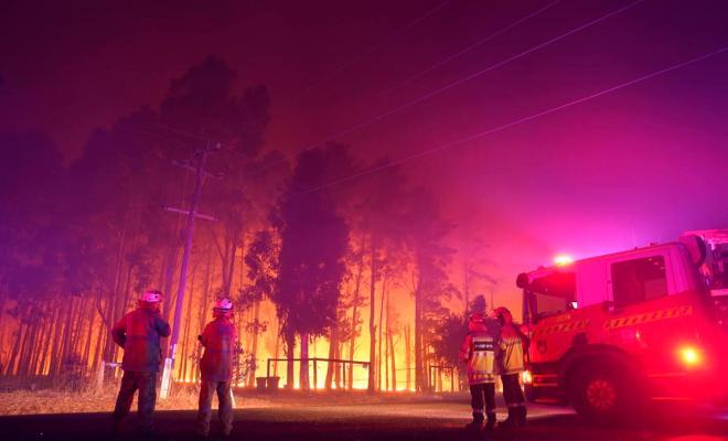 Kebakaran Hebat di Australia Musnahkan 56 Rumah