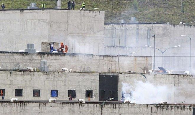 Kerusuhan Penjara di Ekuador Tewaskan 75 Tahanan