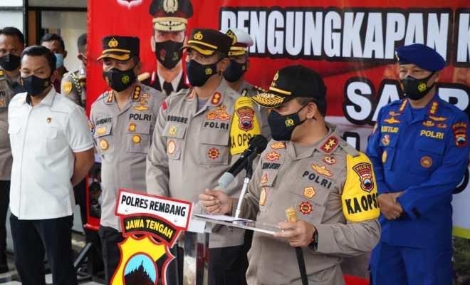 Polres Rembang Berhasil Ungkap Kasus Pembunuhan Satu Keluarga di Turus Gede