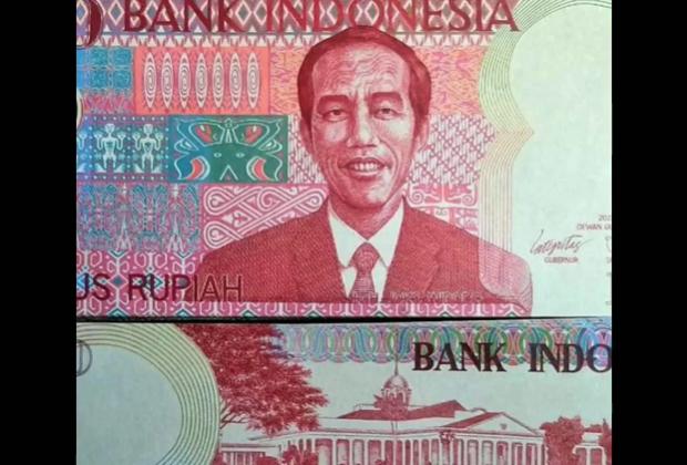 Viral Video Uang Kertas 100 Rupiah Bergambar Jokowi, Begini Penjelasan BI