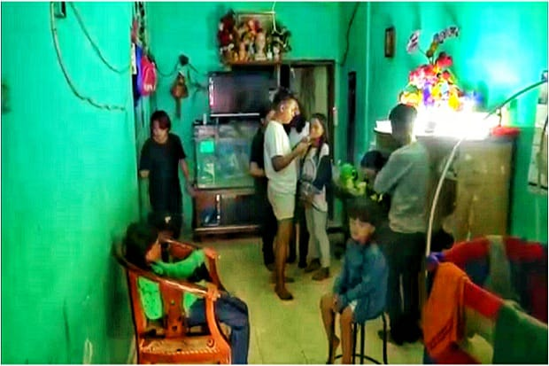Video Pasutri Punya 15 Anak ini Viral di TikTok dan Bikin Gempar Warga Kota Malang
