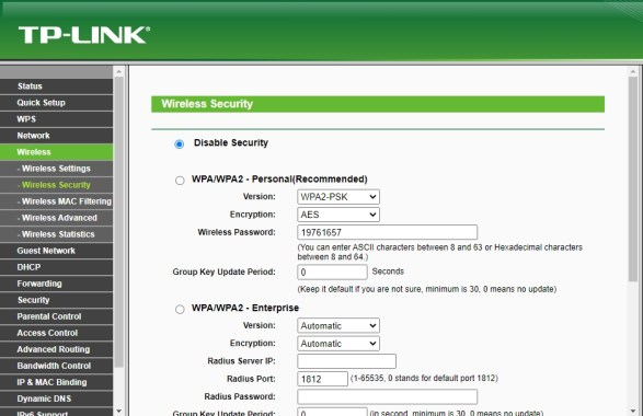 Cara Setting Router TP LINK