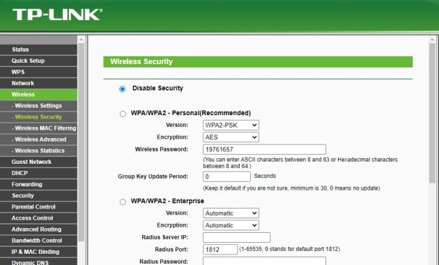 merubah password wifi router