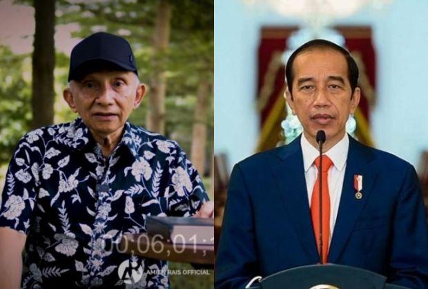 Amien Rais Minta Ma'ruf Amin Protes Jokowi Soal Perpres Investasi Miras