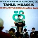Di Harlah NU ke-98 Anies Baswedan Doakan Jokowi
