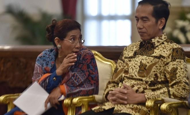 Jokowi Tegaskan Tak Akan Impor Beras Sampai Juni, Susi Nekat Cuit Begini